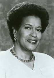 Portrait of Myrlie Evers